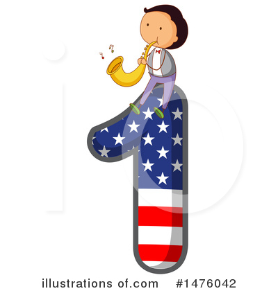 American Number Clipart #1476042 by Graphics RF