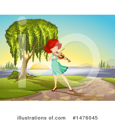 Violin Clipart #1476045 by Graphics RF