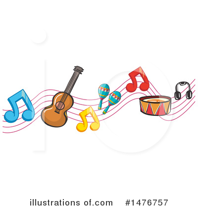 Guitar Clipart #1476757 by Graphics RF