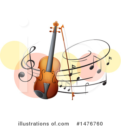 Violin Clipart #1476760 by Graphics RF