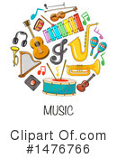 Royalty-Free (RF) Music Clipart Illustration #1476766