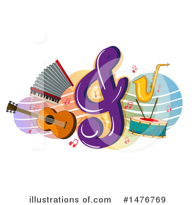 Royalty-Free (RF) Music Clipart Illustration by Graphics RF - Stock Sample #1476769