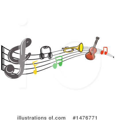 Guitar Clipart #1476771 by Graphics RF