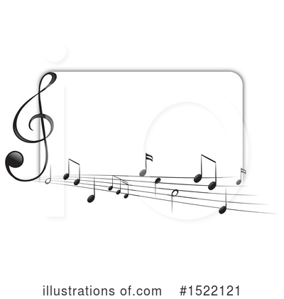 Music Note Clipart #1522121 by Graphics RF