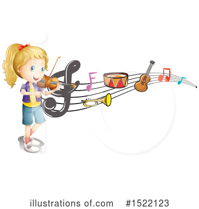 Violin Clipart #1522123 by Graphics RF