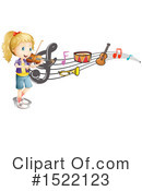 Royalty-Free (RF) Music Clipart Illustration #1522123