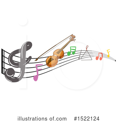 Music Note Clipart #1522124 by Graphics RF