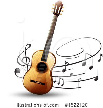 Guitar Clipart #1522126 by Graphics RF