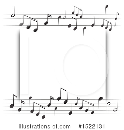 Music Note Clipart #1522131 by Graphics RF