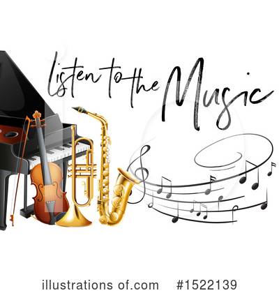 Saxophone Clipart #1522139 by Graphics RF