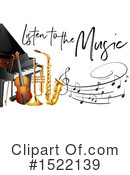Royalty-Free (RF) Music Clipart Illustration #1522139