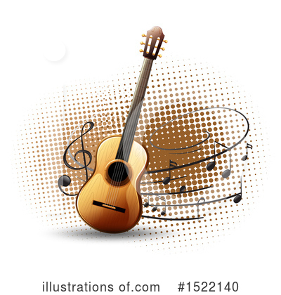 Guitar Clipart #1522140 by Graphics RF