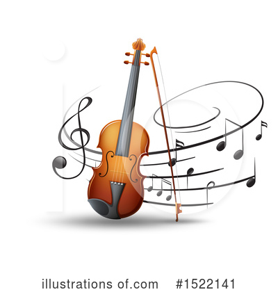 Violin Clipart #1522141 by Graphics RF