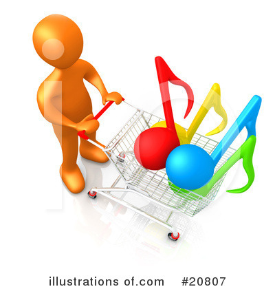 Shopping Clipart #20807 by 3poD