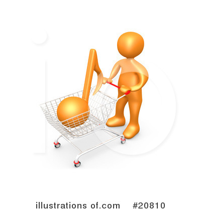 Shopping Clipart #20810 by 3poD