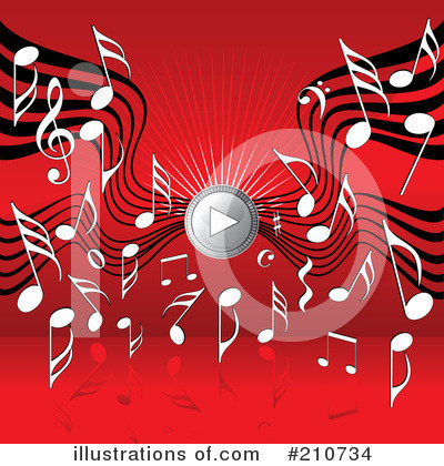 Music Clipart #210734 by MilsiArt
