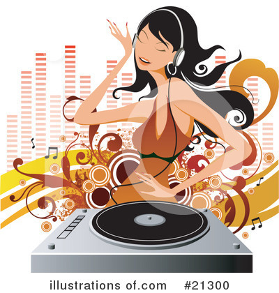Record Player Clipart #21300 by OnFocusMedia