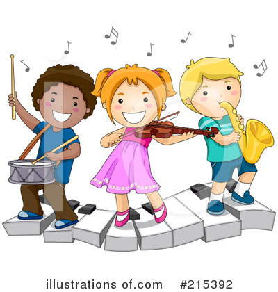 Royalty-Free (RF) Music Clipart Illustration by BNP Design Studio - Stock Sample #215392