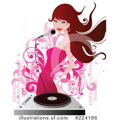 Record Player Clipart #224186 by OnFocusMedia