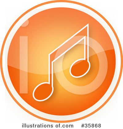 Royalty-Free (RF) Music Clipart Illustration by YUHAIZAN YUNUS - Stock Sample #35868