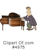 Royalty-Free (RF) Music Clipart Illustration #4975