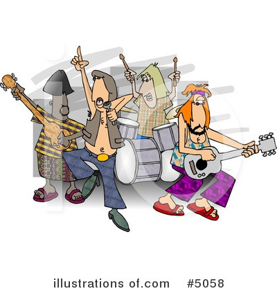 Royalty-Free (RF) Music Clipart Illustration by djart - Stock Sample #5058