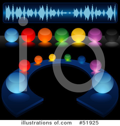 Royalty-Free (RF) Music Clipart Illustration by dero - Stock Sample #51925
