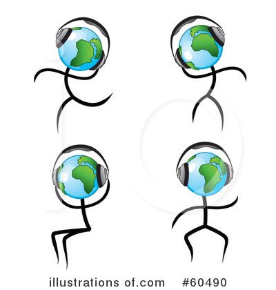 Globe Clipart #60490 by TA Images