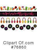 Royalty-Free (RF) Music Clipart Illustration #76860