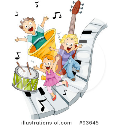 Piano Clipart #93645 by BNP Design Studio