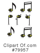Music Notes Clipart #79957 by Randomway