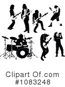 Royalty-Free (RF) Musician Clipart Illustration #1083248