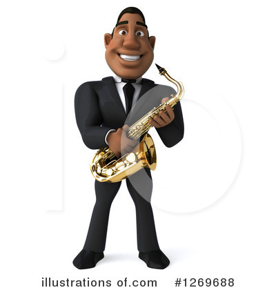 Royalty-Free (RF) Musician Clipart Illustration by Julos - Stock Sample #1269688
