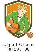 Royalty-Free (RF) Musician Clipart Illustration #1293190