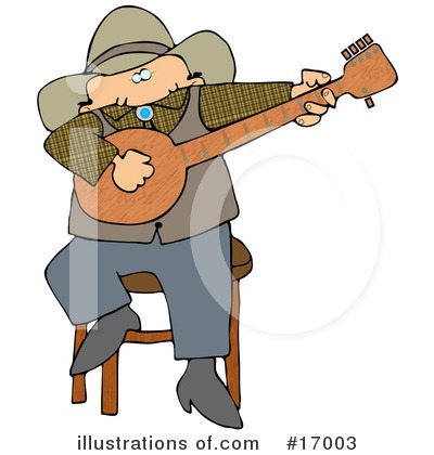 Royalty-Free (RF) Musician Clipart Illustration by Dennis Cox - Stock Sample #17003