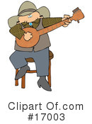 Royalty-Free (RF) Musician Clipart Illustration #17003
