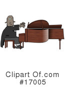 Royalty-Free (RF) musician Clipart Illustration #17005