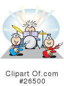 Royalty-Free (RF) Musician Clipart Illustration #26500
