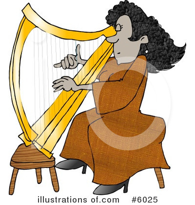 Royalty-Free (RF) Musician Clipart Illustration by Dennis Cox - Stock Sample #6025