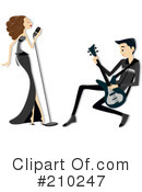 Royalty-Free (RF) musicians Clipart Illustration #210247
