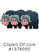 Musk Ox Clipart #1378055 by visekart