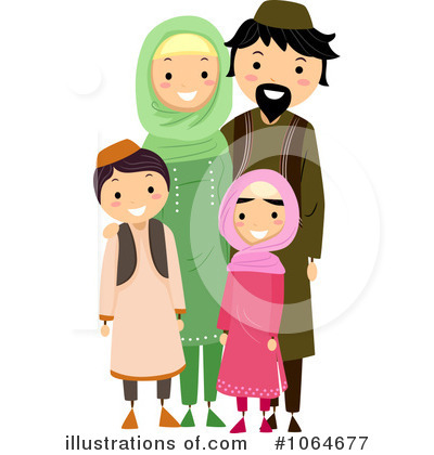 Royalty-Free (RF) Muslim Clipart Illustration by BNP Design Studio - Stock Sample #1064677