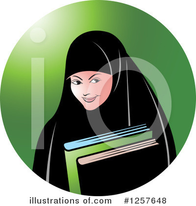 Book Clipart #1257648 by Lal Perera