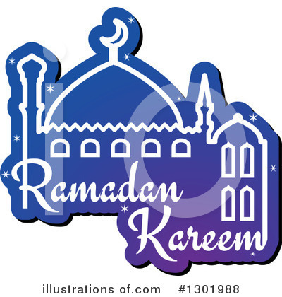 Ramadan Kareem Clipart #1301988 by Vector Tradition SM