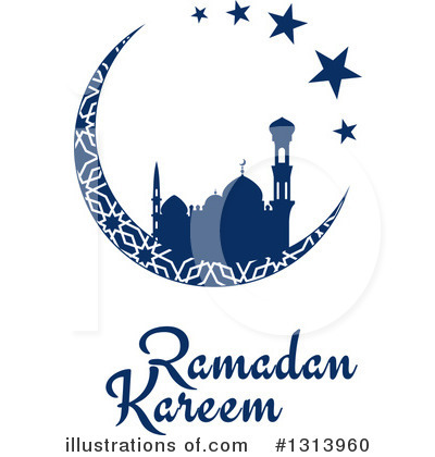 Ramadan Kareem Clipart #1313960 by Vector Tradition SM