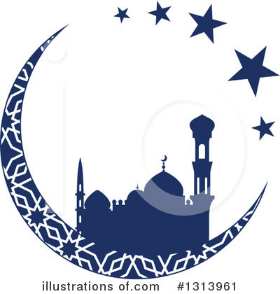 Ramadan Kareem Clipart #1313961 by Vector Tradition SM