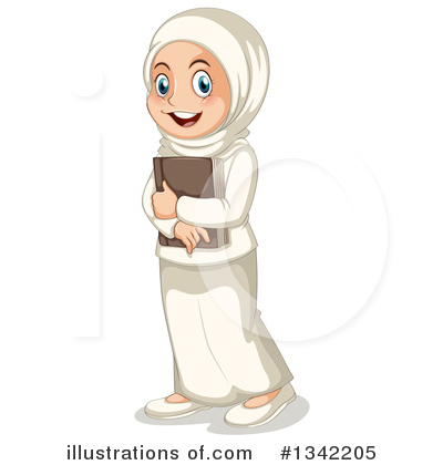 Muslim Clipart #1342205 by Graphics RF