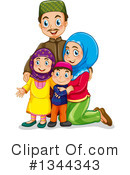 Royalty-Free (RF) Muslim Clipart Illustration #1344343