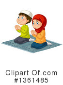 Royalty-Free (RF) Muslim Clipart Illustration #1361485