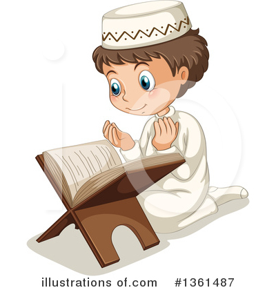 Muslim Clipart #1361487 by Graphics RF
